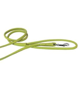 "Dogline Dogline Lime Green 1/2"" Leather Lead"