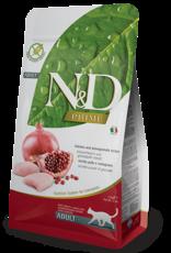 Farmina N&D GF Adult Cat Food Chicken & Pomegranate 11 lbs