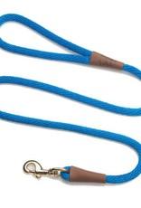 """Mendota Pet Mendota Pet 1/2"""" Snap Lead Blue 6 ft"""