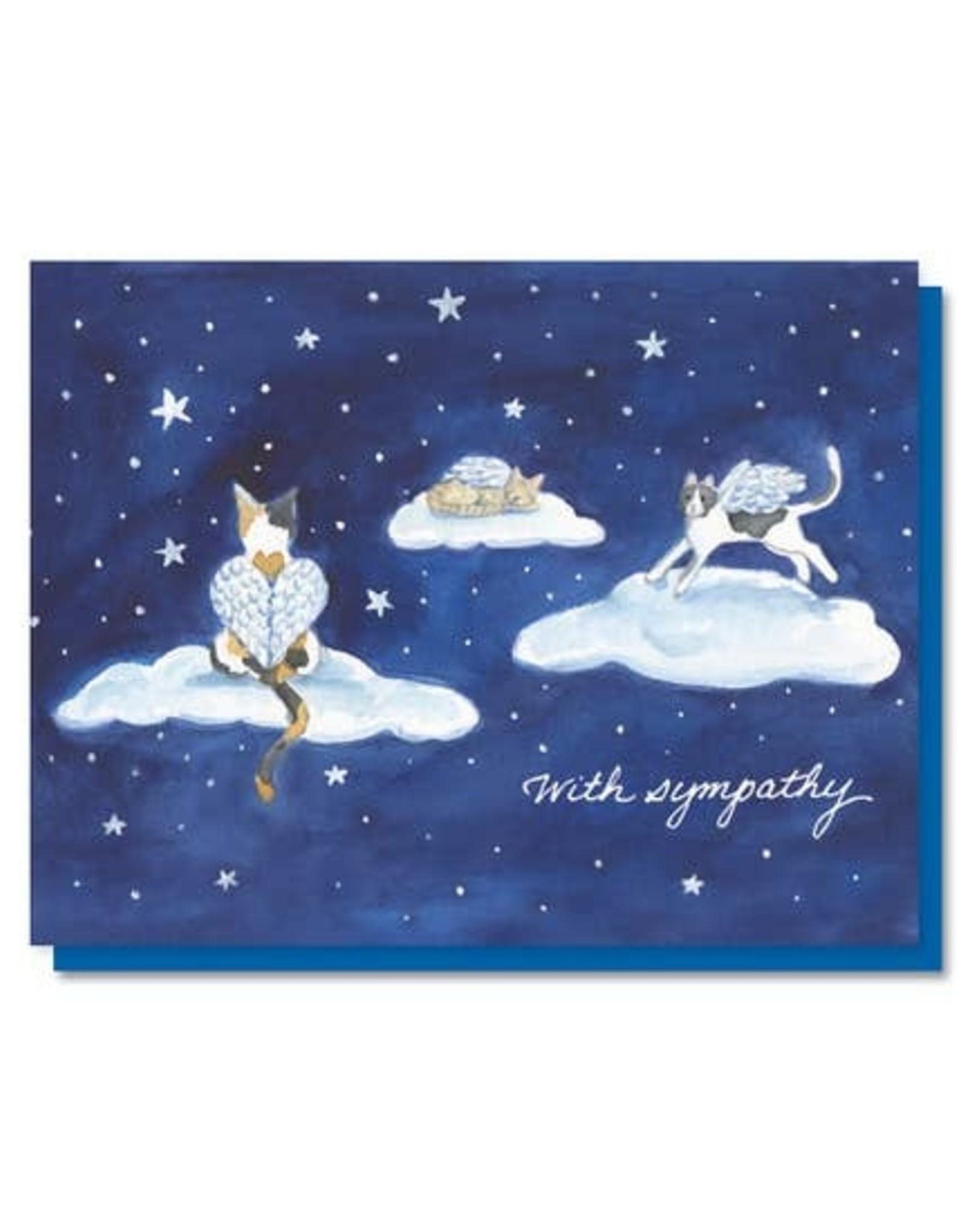 The Lavender Whim The Lavender Whim Cards Cat Heaven Pet Sympathy Card
