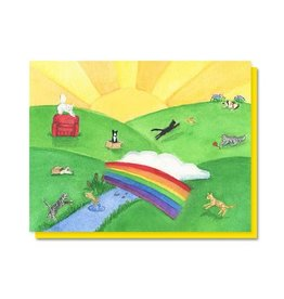 The Lavender Whim The Lavender Whim Cards Cat Rainbow Bridge Pet Sympathy Card