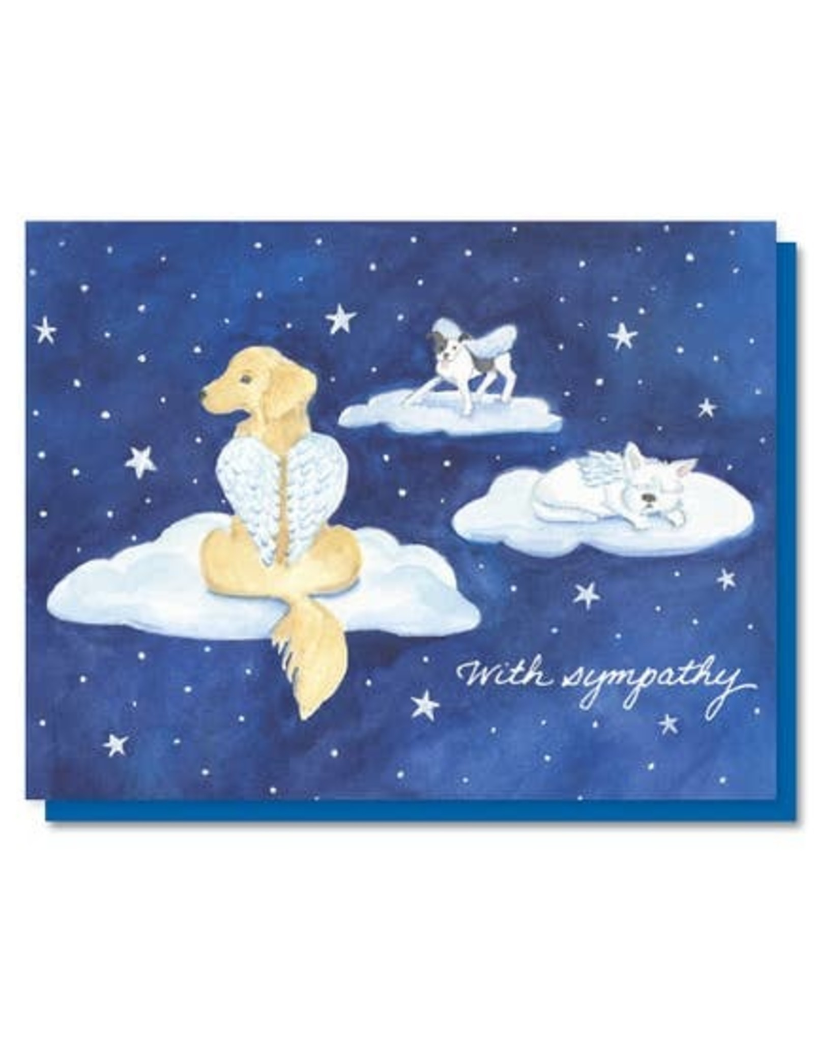 The Lavender Whim The Lavender Whim Cards Dog Heaven Pet Sympathy Greeting Card