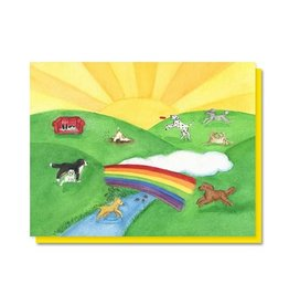 The Lavender Whim The Lavender Whim Cards Dog Rainbow Bridge Pet Sympathy Card