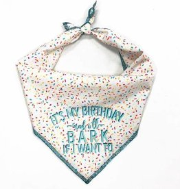 Bubs' & Betty's It's My Birthday Dog Bandana