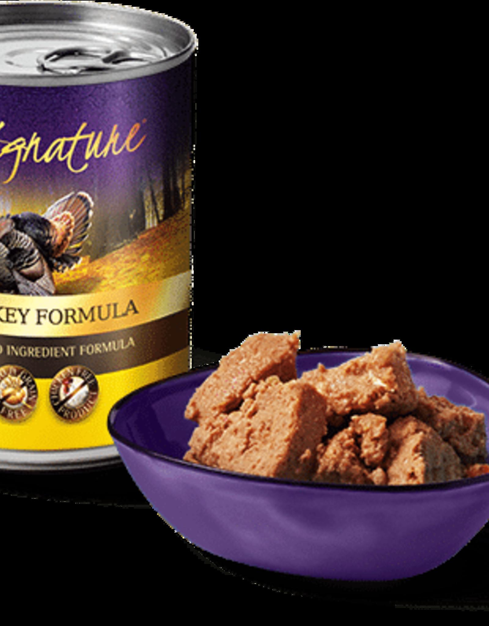 Zignature Zignature Canned Dog Food Turkey