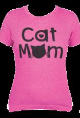 Dog Speak Cat Mom T-Shirt