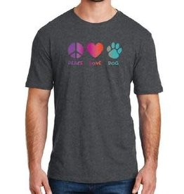 Dog Speak Peace Love Dog Shirt
