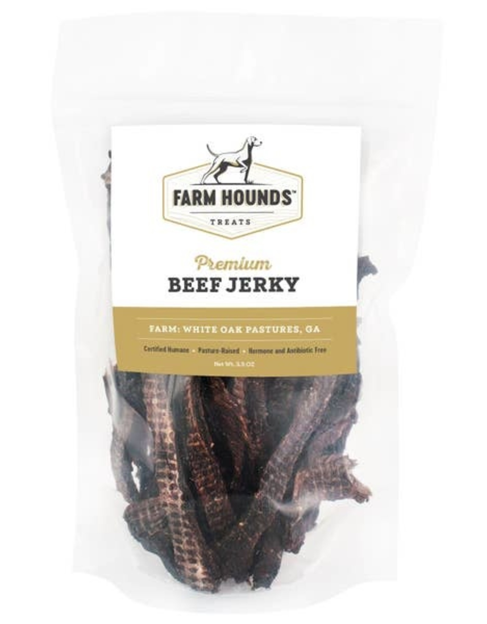 Farm Hounds Beef Jerky - 3.5 oz