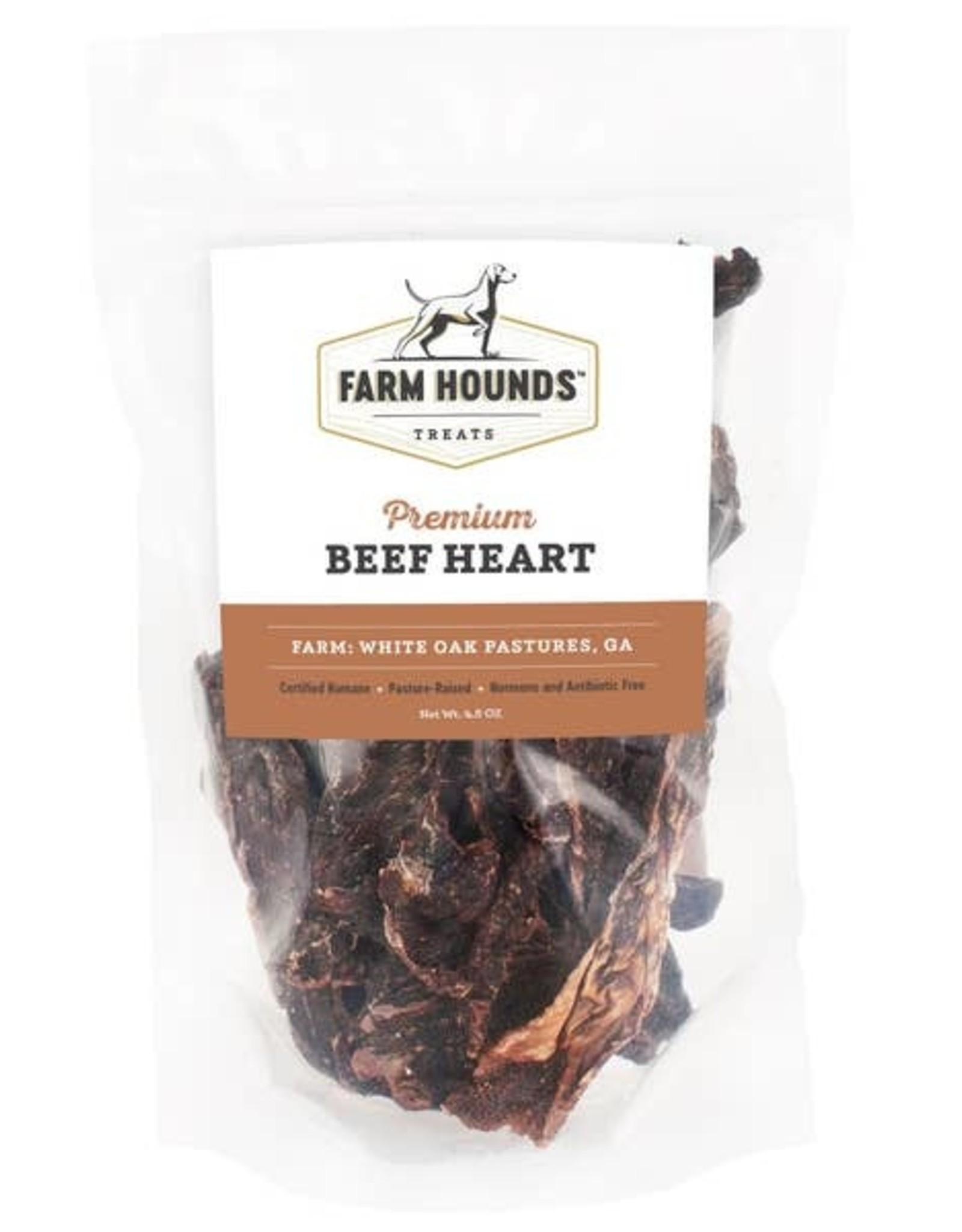 Farm Hounds Beef Heart - 3.5 oz