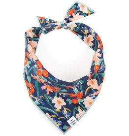 The Foggy Dog Foggy Dog Inky Blooms Bandana