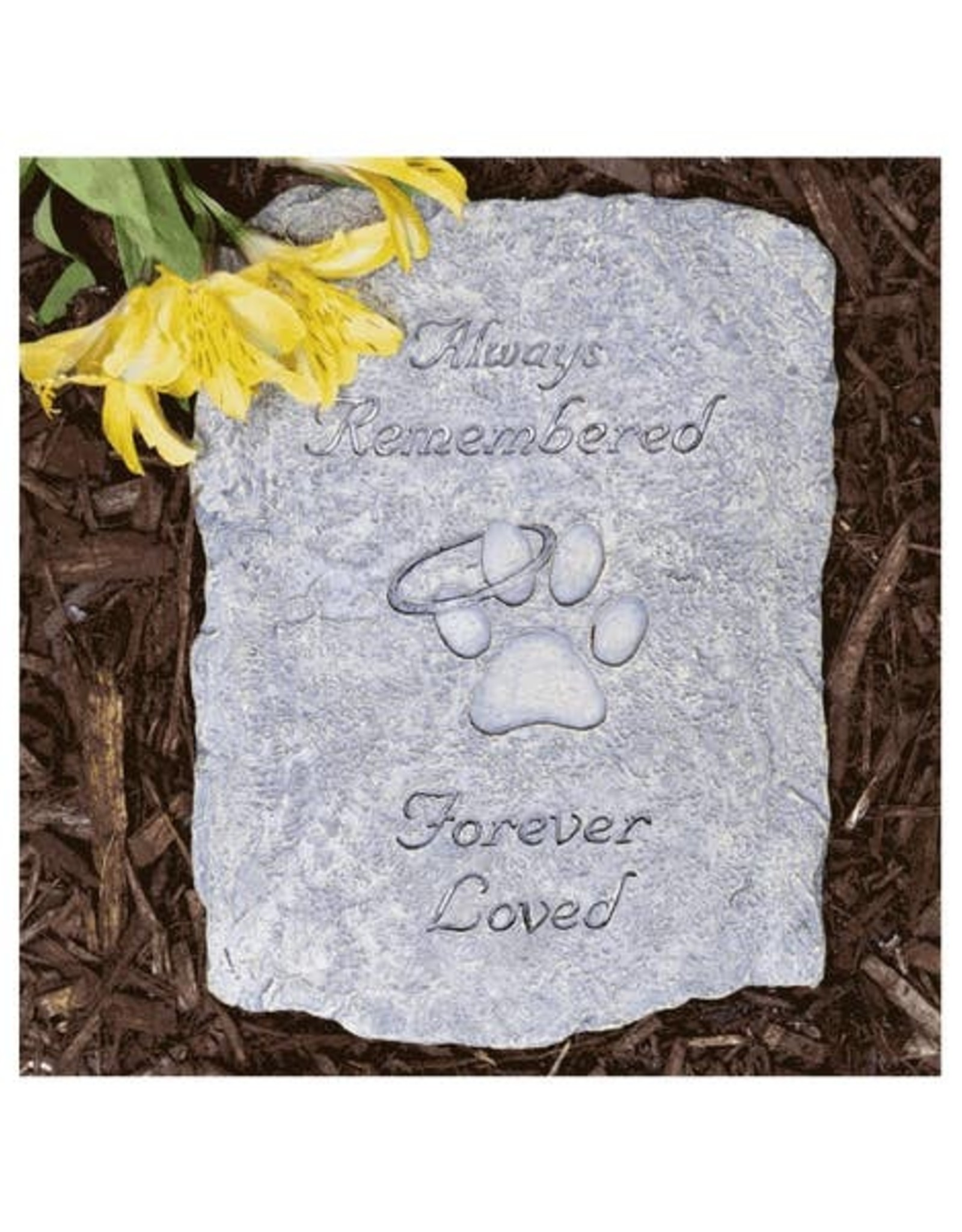 Always Remembered Forever Loved … Memory Stone