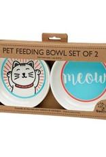 Lucky Cat Bowl Gift Set