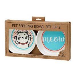 Lucky Cat Bowl Gift Set