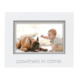 Pearhead Pawtners in Crime Sentiment Photo Frame