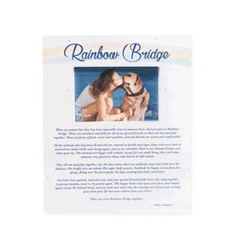Dog Speak Rainbow Bridge Wood Pallet Box Frame