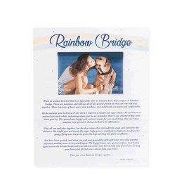 Dog Speak Rainbow Bridge Wood Pallet Box Frame