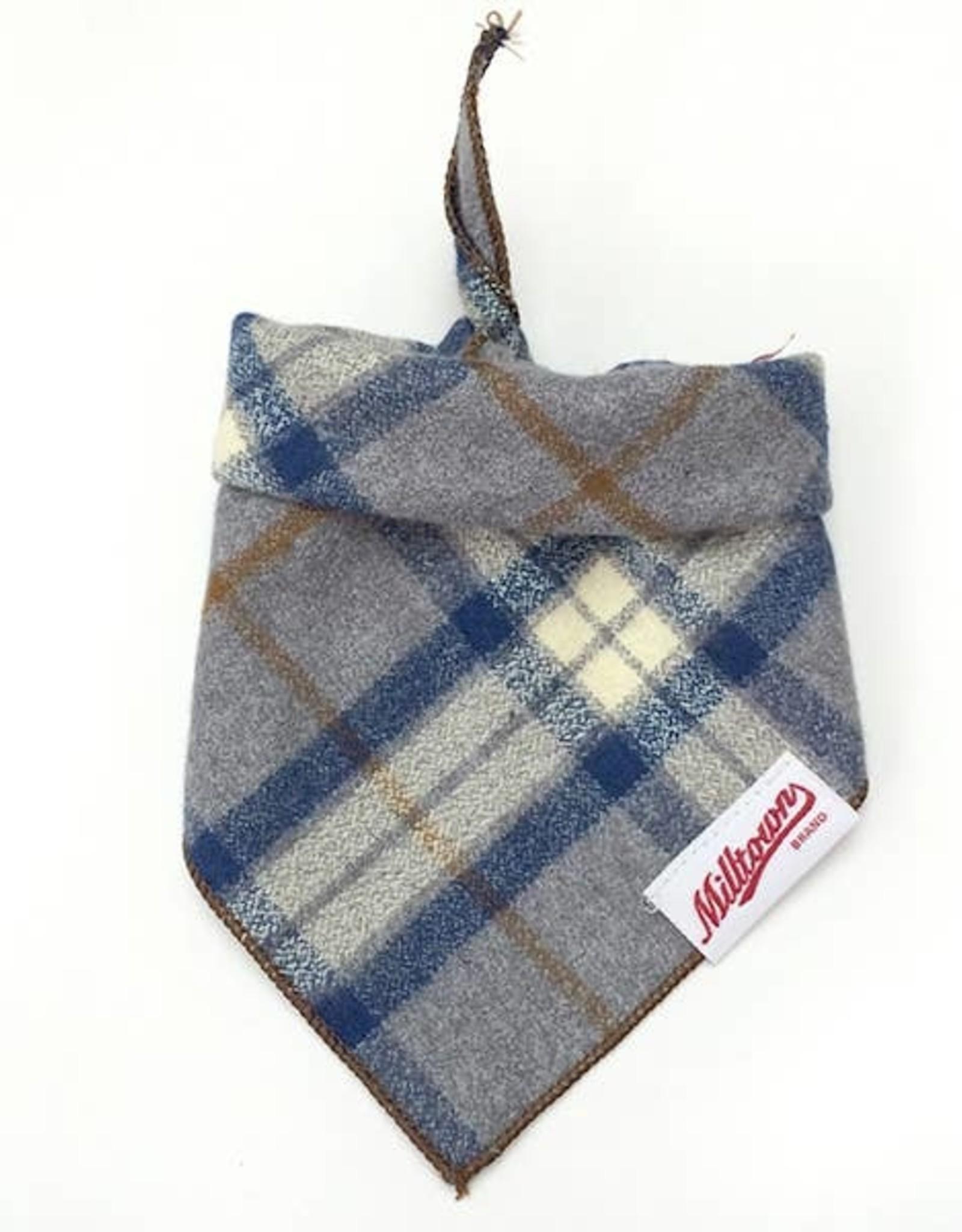 Milltown Brand Milltown Brand Ash Plaid Flannel Bandana