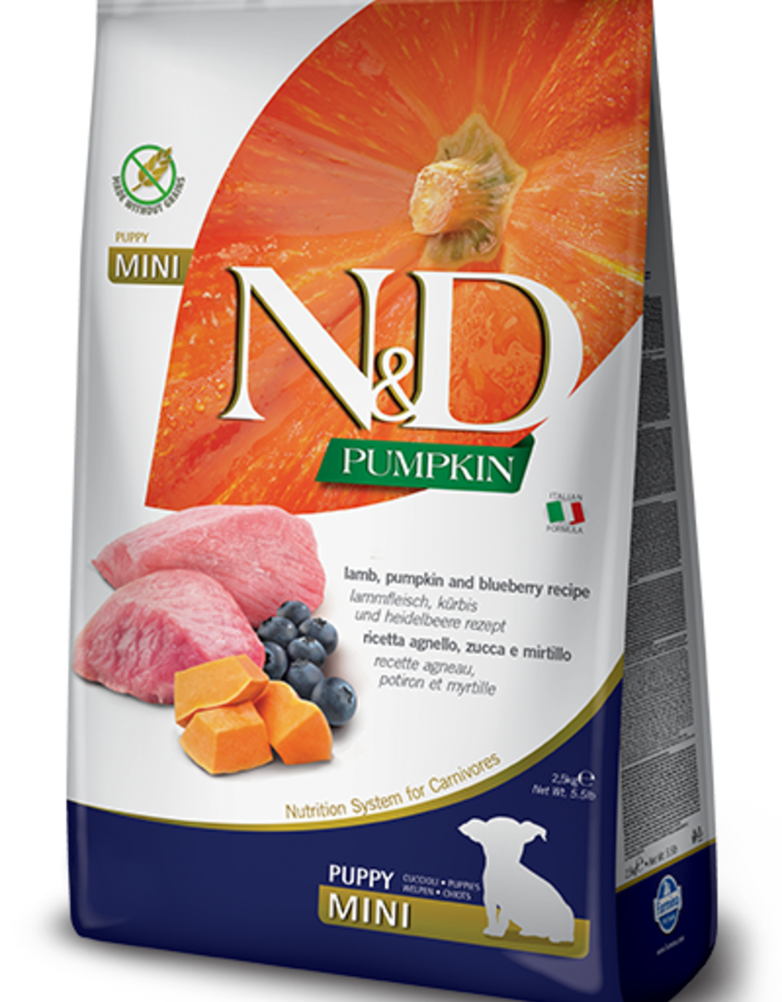 Farmina N&D Pumpkin Mini Puppy Food