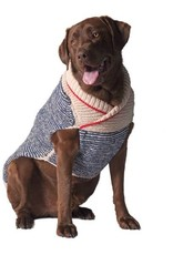 Chilly Dog Chilly Dog Blue Spencer Sweater