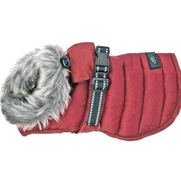 Doggie Design Alpine Extreme Weather Puffer Coat Burgundy