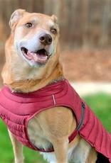 Doggie Design Alpine Extreme Weather Puffer Coat Burgundy