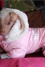 Doggie Design Ruffin' It Pink Snowsuit