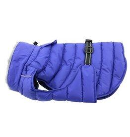Doggie Design Alpine Extreme Weather Puffer Coat Blue