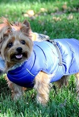 Doggie Design Alpine Extreme Weather Puffer Coat Blue