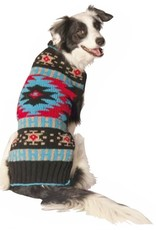 Chilly Dog Chilly Dog Black Southwest Sweater