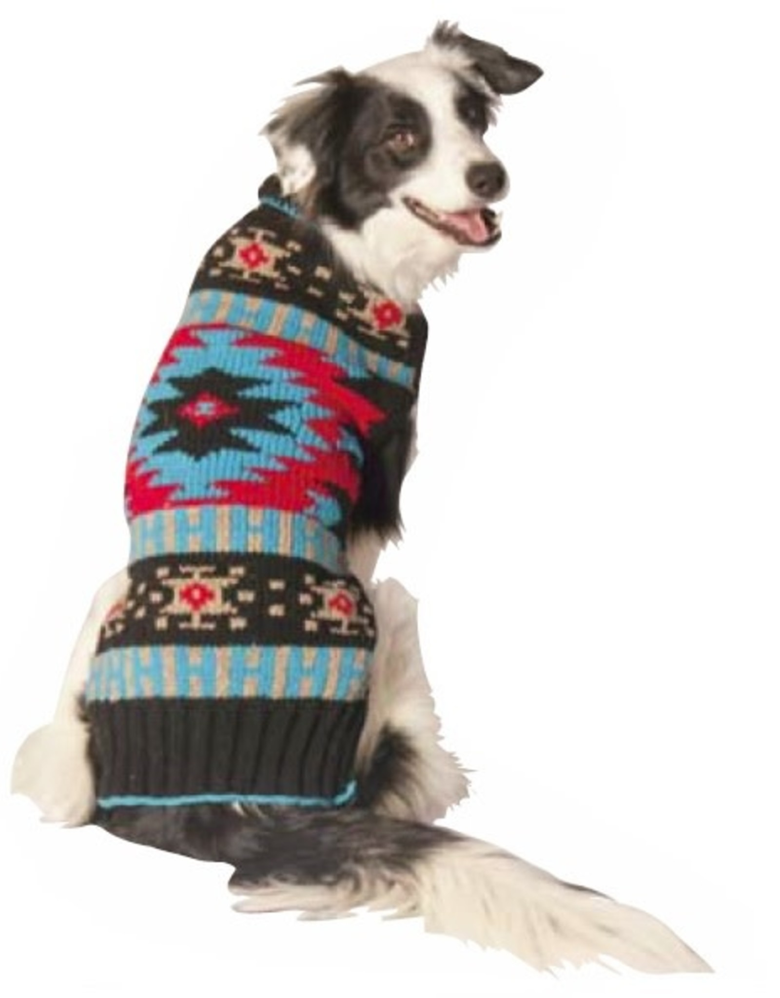 Chilly Dog Chilly Dog Black Southwest Sweater