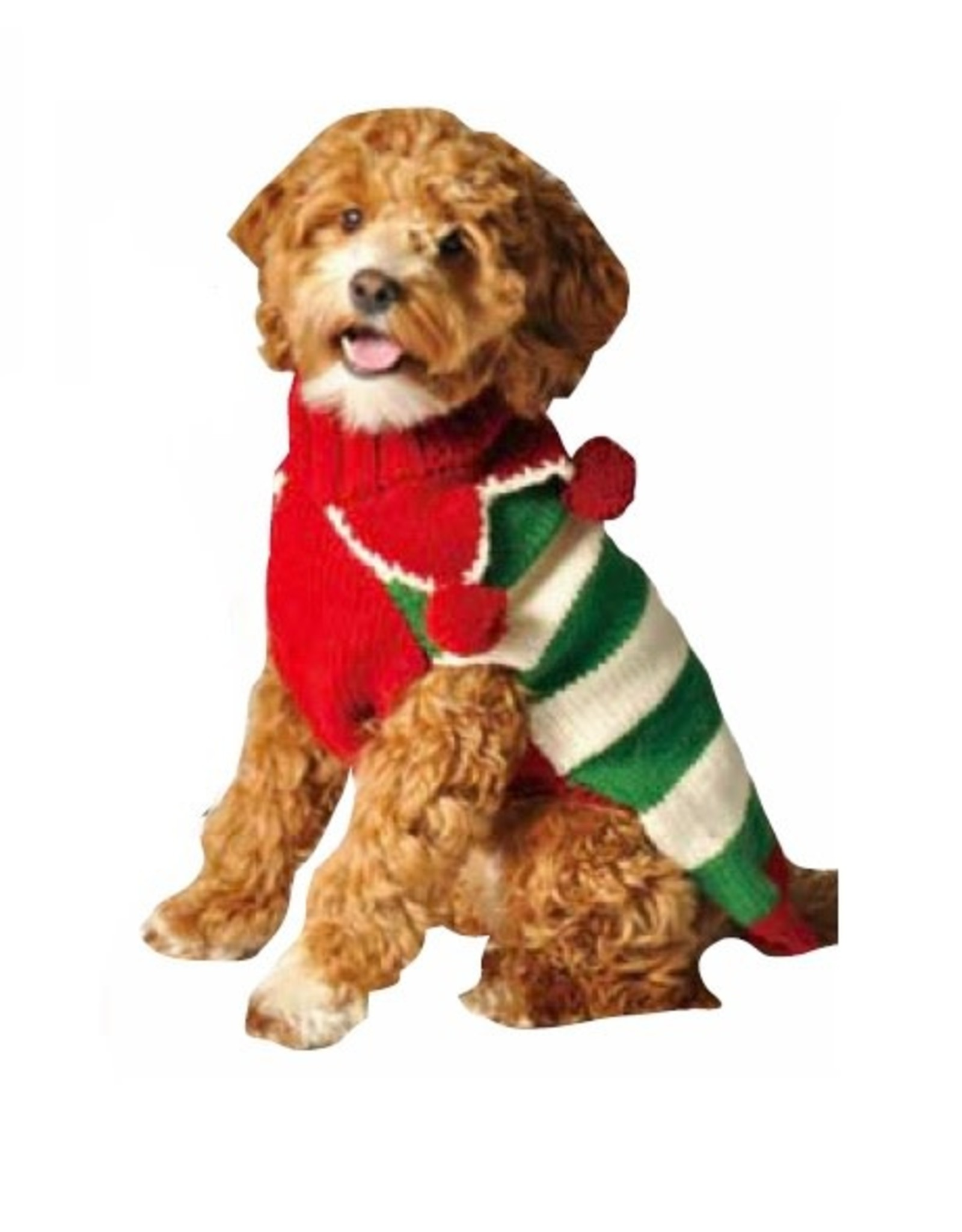 Chilly Dog Chilly Dog Christmas Elf Sweater