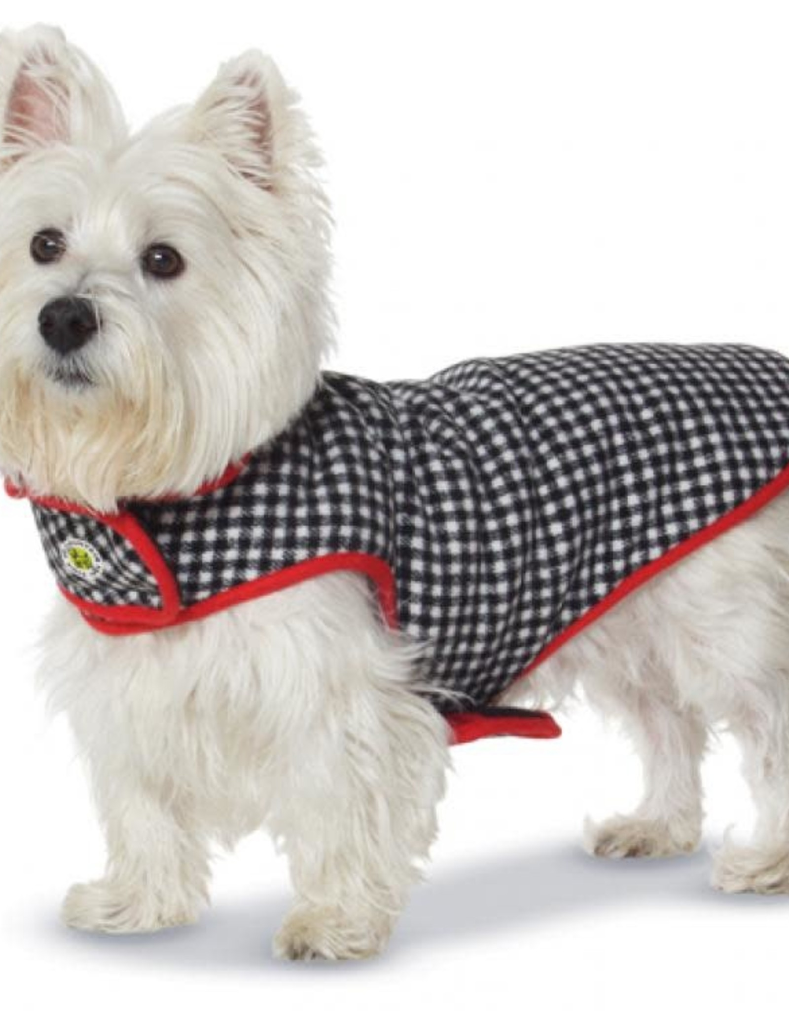 Up Country Up Country Houndstooth Fleece-Lined Coat