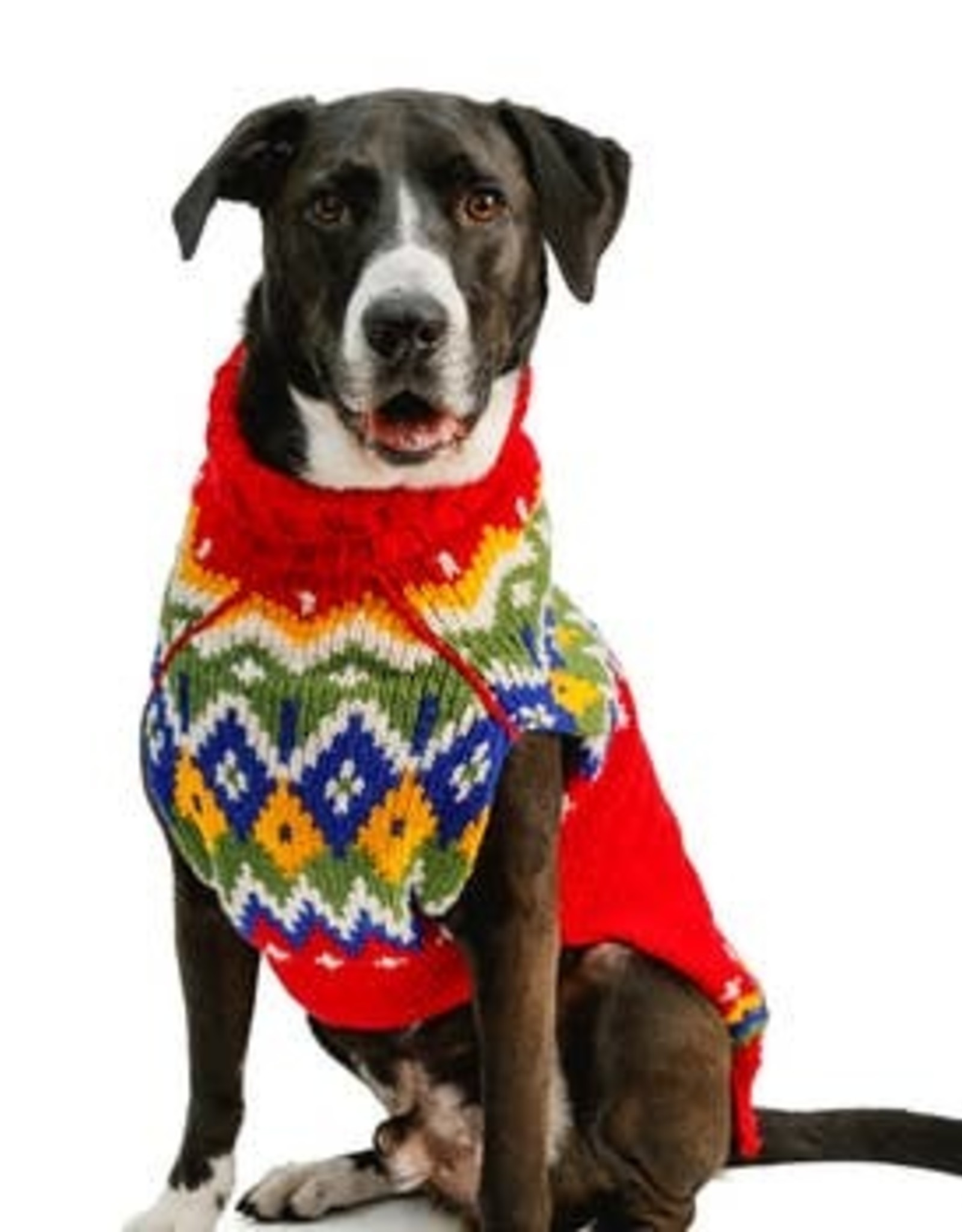 Chilly Dog Chilly Dog Holiday Fairisle Dog Sweater