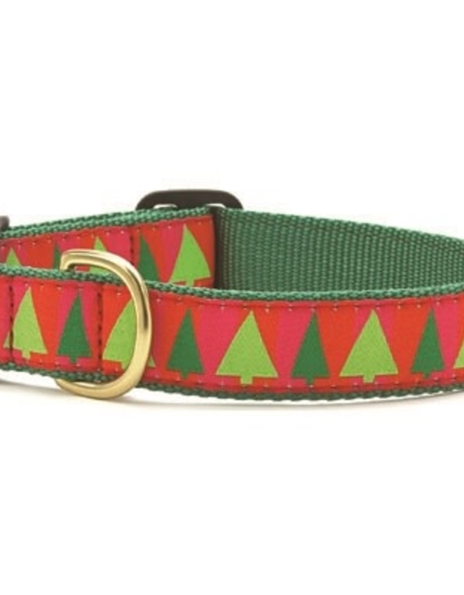 Up Country Up Country Festive Trees Dog Collar