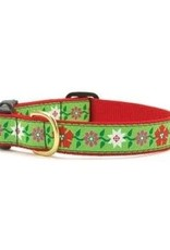 Up Country Up Country Poinsettia Dog Collar