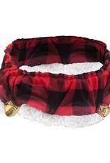 H&K H&K Buffalo Check Ruff Collar