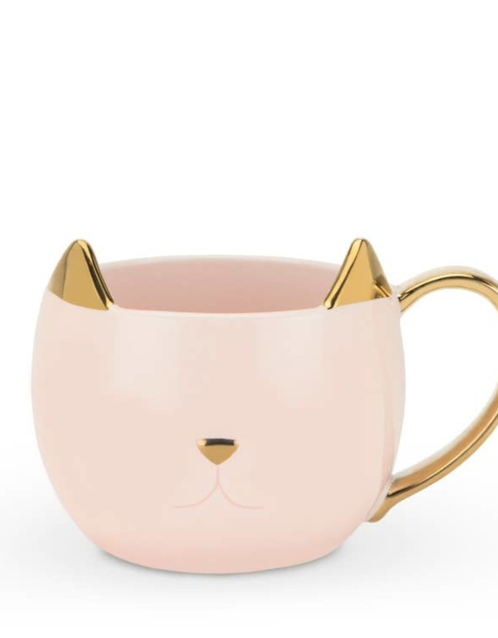 Pinky Up Chloe Pink Cat 12 oz. Mug