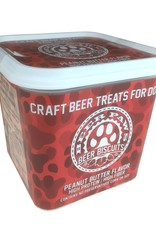 Beer Paws Beer Paws Tub of Peanut Butter Beer Biscuits