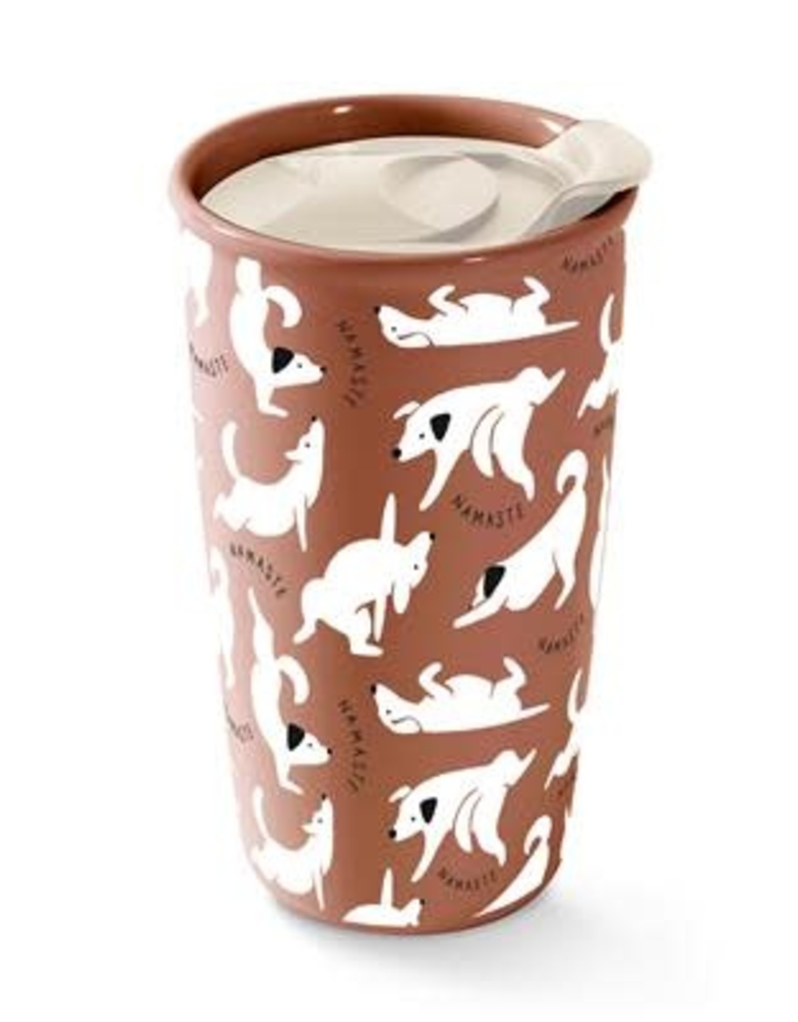 Pet Shop by Fringe Studio Fringe Studio Namaste Dogs Travel Mug