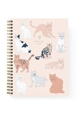 Baltic Club Baltic Club Cats Spiral Notebook