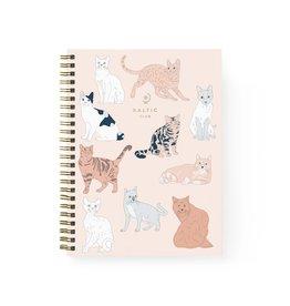 Baltic Club Baltic Club Cats Spiral Notebook