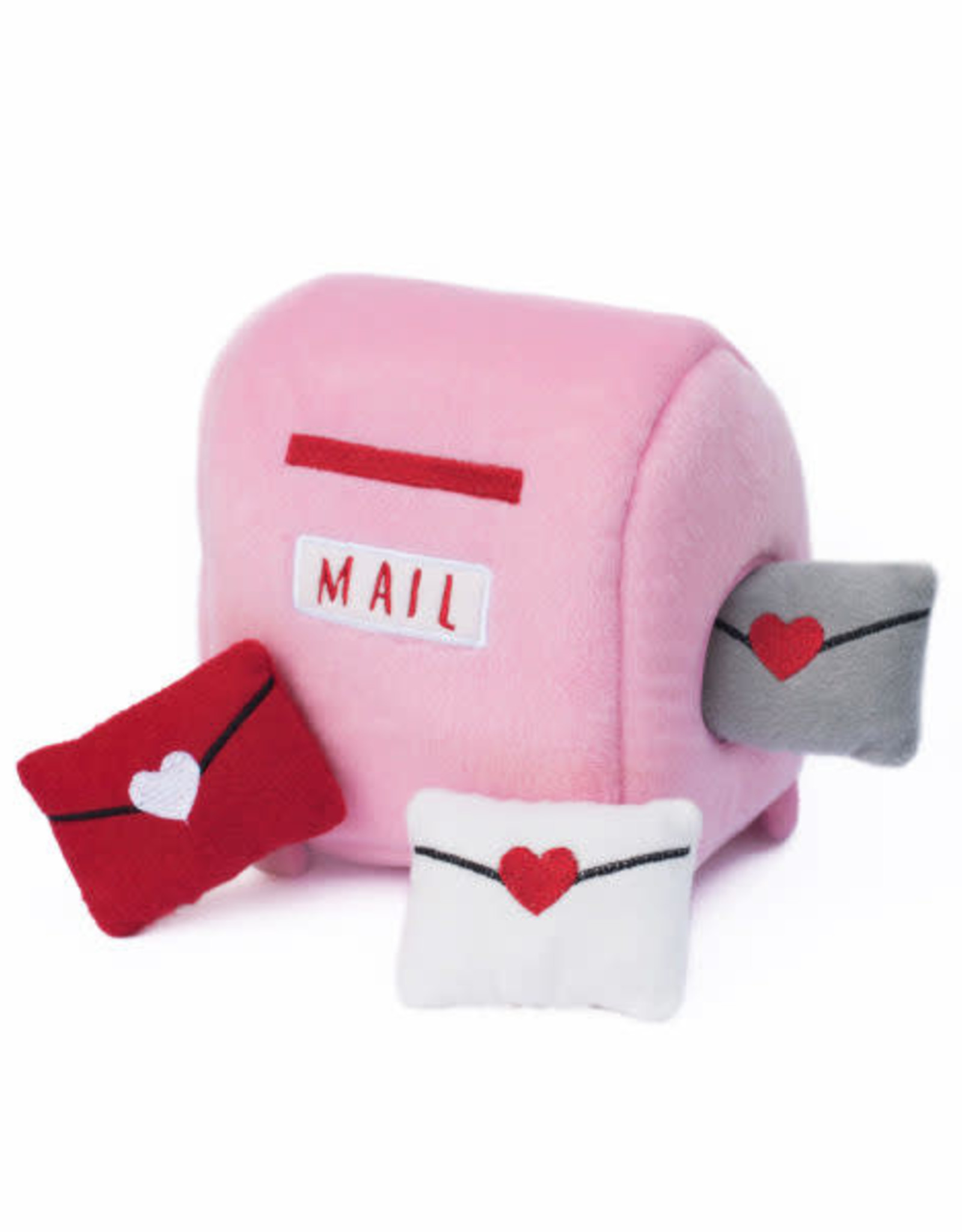 ZippyPaws Zippy Paws Mailbox and Love Letters Burrow Toy
