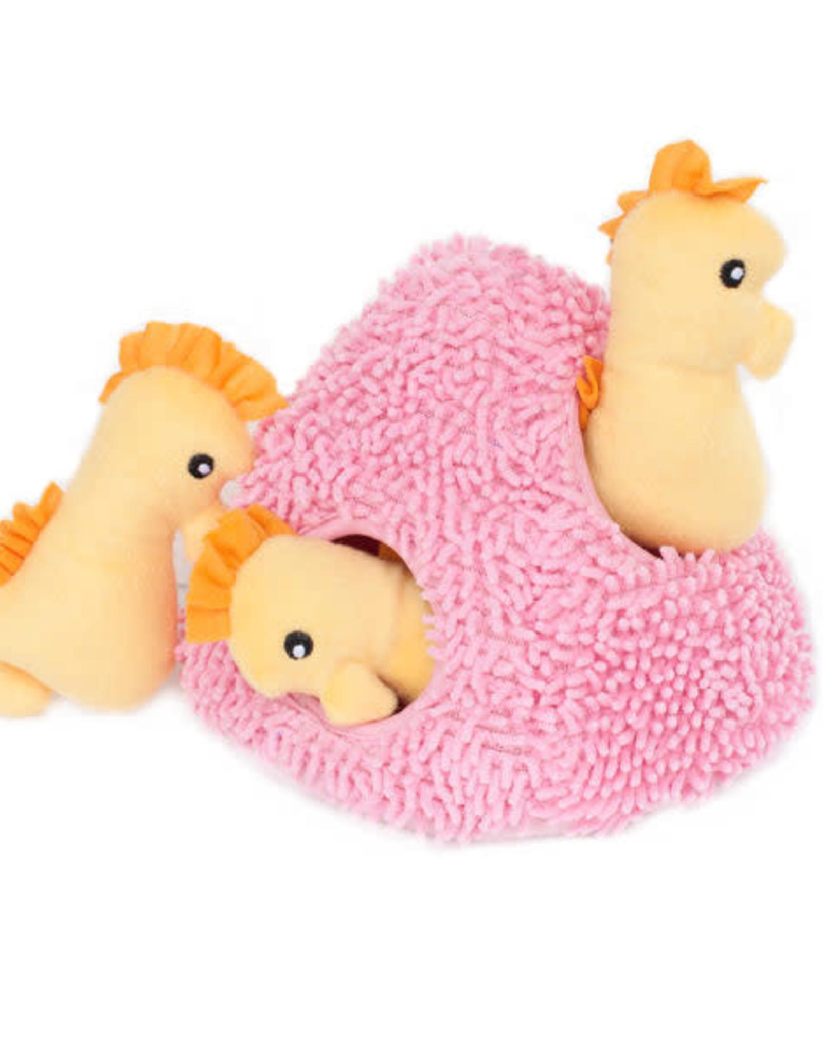 ZippyPaws Zippy Paws Seahorse & Coral Burrow Toy