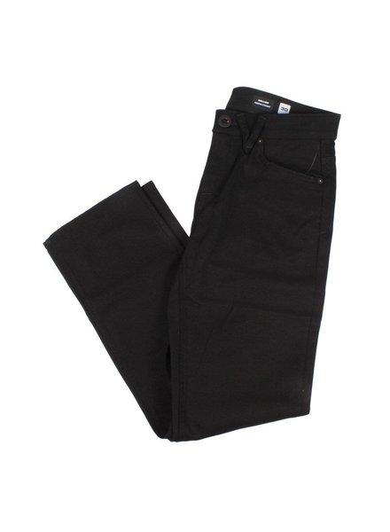Volcom Solver Modern Fit Jeans  - Black