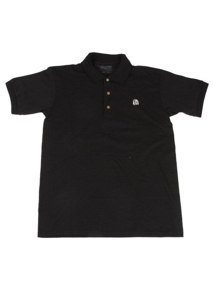 Identity iD Embroidered Polo - Black