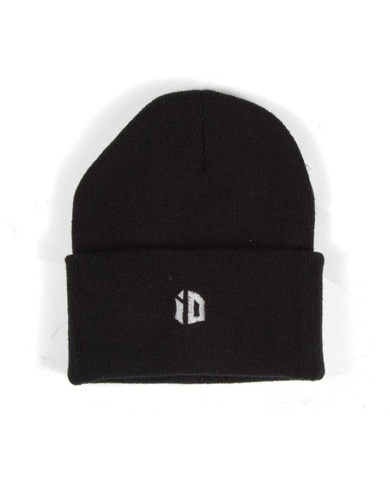 Identity iD Embroidered Beanie - Black