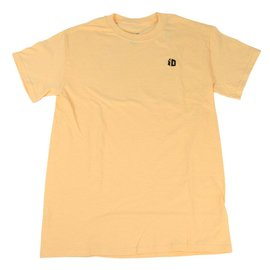 iD Embroidered T-Shirt - Yellow