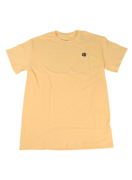 Identity iD Embroidered T-Shirt - Yellow