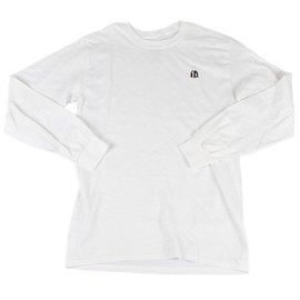 Identity iD Embroidered Longsleeve - White