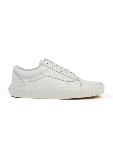 Vans Old Skool Embossed Sidewall - White